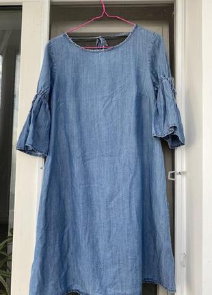 Платье джинсовое dilvin