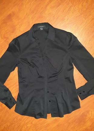 Рубашка блузка черная