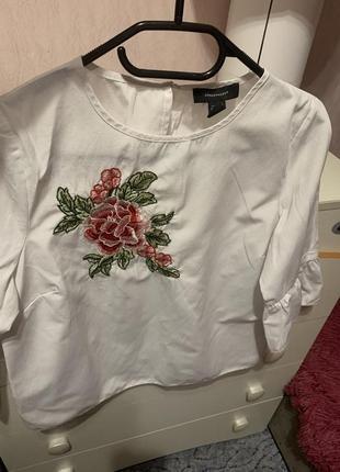 Рубашка блуза с вышивкой