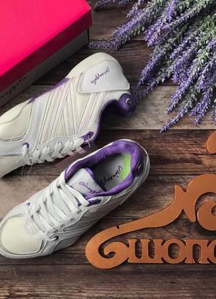 Фирменные кроссовки деликатного фасона в стиле «городской шик»  sh1431  pineapple