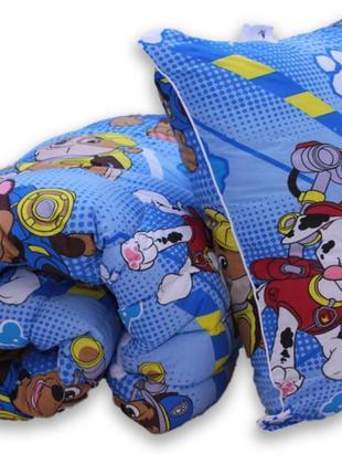 Гіпоалергенна ковдра та подушки pow patrol, одеяло