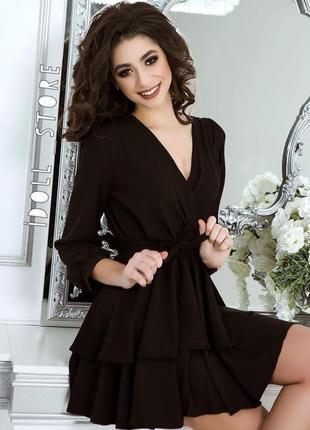 Платье с двойной юбкой(возможен торг)
