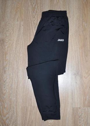 Зауженые штаны спортивные размер xl бренда jako