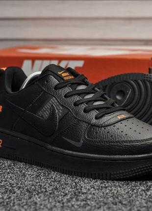 Мужские кроссовки nike air force 1 lv8 чёрные
