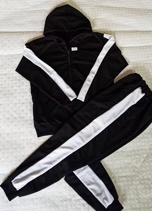 Спортивный костюм на замке, штаны  с карманами❗