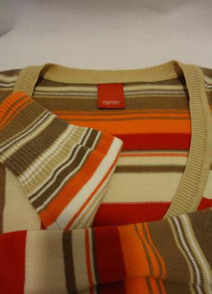 Esprit, свитерок с мысообразным воротом, р-р s-m3