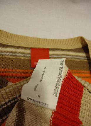 Esprit, свитерок с мысообразным воротом, р-р s-m4