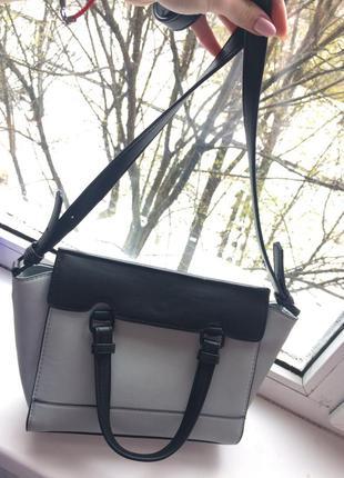 Очень удобная  сумка zara небесно-голубого цвета5