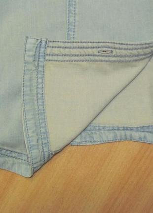 Стильная голубая джинсовая рубашка esprit edc 42-44 укр.5