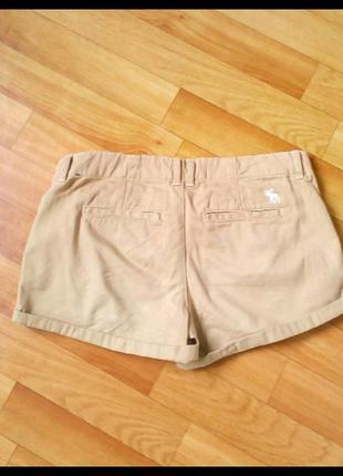 Фирменные шорты abercrombie&fitch, размер 264