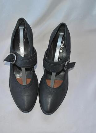 Туфли gabor 40-41р. натуральная кожа по стельке 27 см1