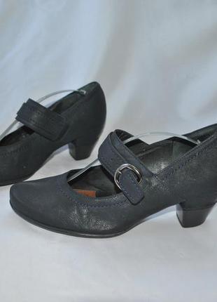 Туфли gabor 40-41р. натуральная кожа по стельке 27 см5