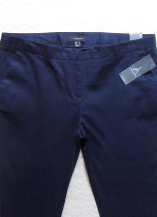 Новые укороченые синие штаны брючки atmosphere , 16 размер.2