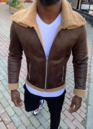 Куртка дубленка на меху