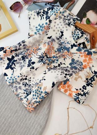 Стильная блуза нью лук в актуальный принт