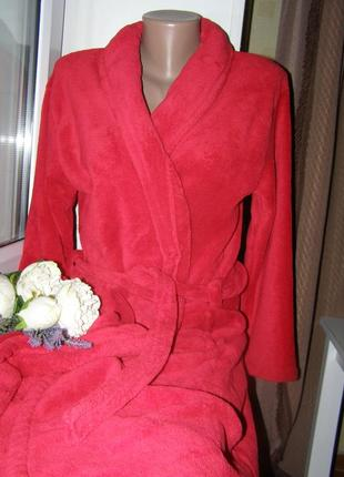 Замечательный, уютный домашний халат от  kronborg of denmark s-m-размер