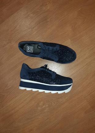 Стильные туфли-bluchers emmshu(испания)