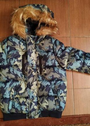 Куртка для хлопчика 122/128