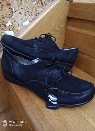 Кожание удобние туфли от немецкого бренда marc, 42p
