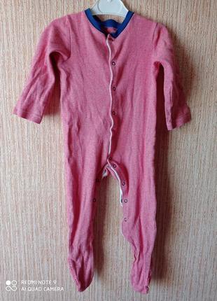 Человечек слип пижама tu 12-18 m