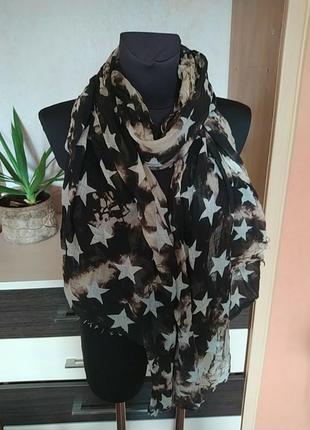 Шаль палантин шарф saint tropez