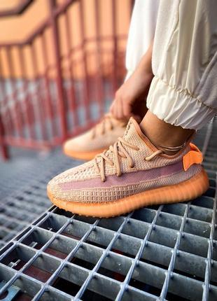 Кроссовки adidas yeezy 350 clay kids купить адидас изи женские / мужские