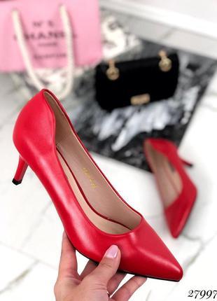 ❤ женские красные  туфли лодочки ❤