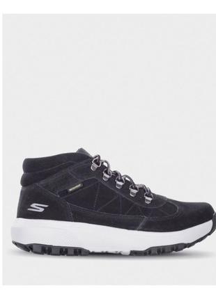 Ботинки skechers outdoor waterproof, p.43,5-44,натуральная замша, на высокой подошве