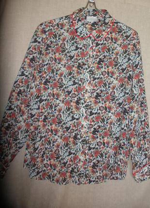 Яркая веселенькая свободная расслабленная  блузка блуза cotswold collections из вискозы