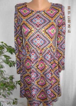 Новое платье с принтом1