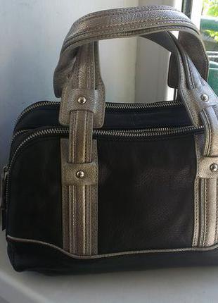 Кожаная сумка kenneth cole