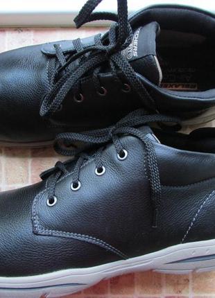Ботинки skechers мужские кожа длина по стельке 27.5 см 42 размер