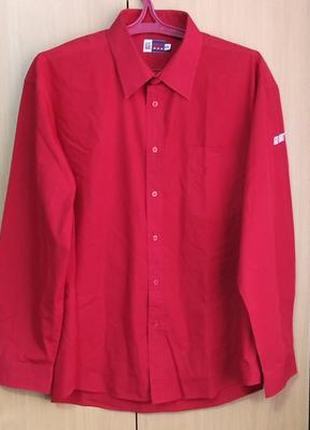 Рубашка us basic/xxl/color-red.