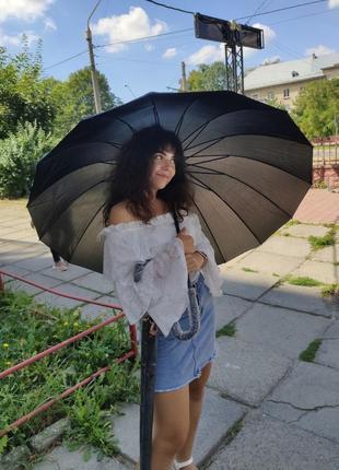 Велика президентська парасоля парасолька / женский зонт зонт антиветер