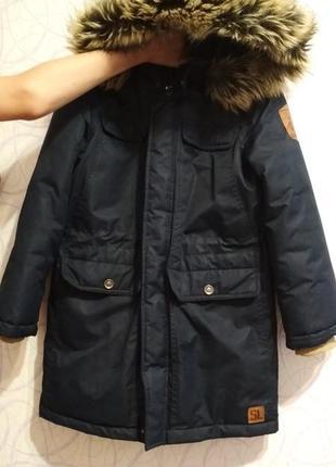 Зимняя куртка/пуховик на мальчика libellule