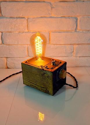 Настольные лампа