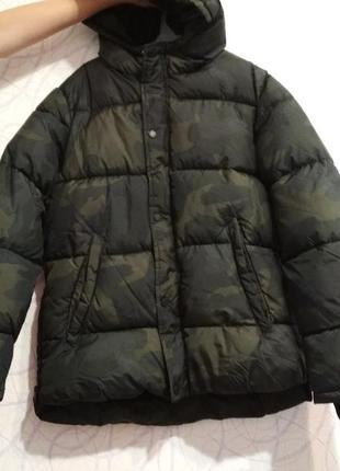 Куртка холодная осень/зима фирмы zara оригинал 146/152 на мальчика
