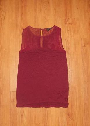 Красивая блуза цвета бордо !