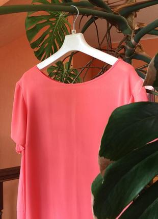 Блузка топ шелковистая винтажная