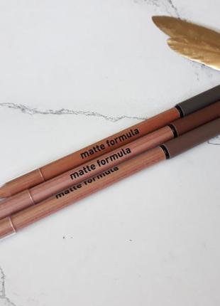 Карандаш для бровей matte formula