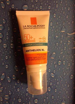 Солнцезащитный тающий крем для чувствит. кожи лица la roche-posay anthelios xl spf50+