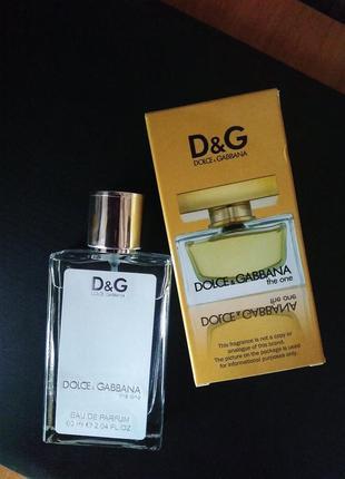 Духи парфюм аромат парфюмированная вода the one от dolce & gabbana тестер 60мл