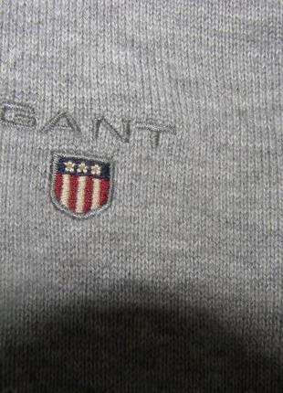 Gant мужская кофта под горло 100% хлопок s размер