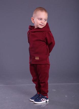 Теплый костюм на замке 92-116