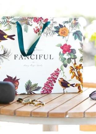 Красивый пакет птичий сад