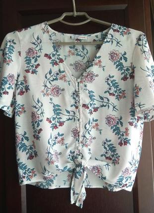 Блуза топ в винтажном стиле