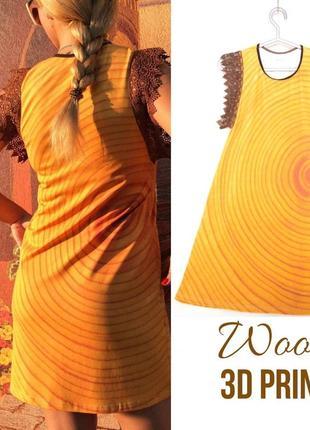 3d-платье дерево