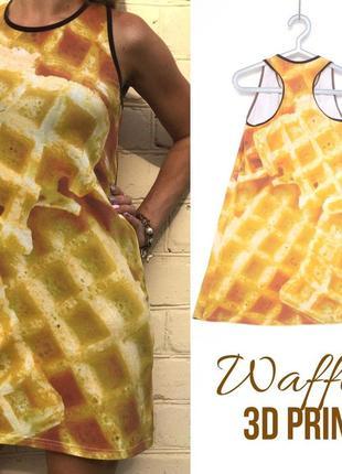 3d-платье вафля