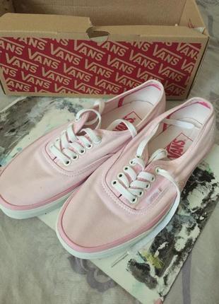 Кеды vans limited edition pink pastel оригинал