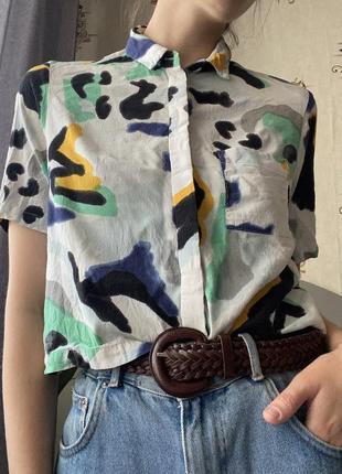 Рубашка винтажная